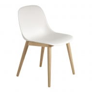 Muuto Eetkamerstoel Fiber Side Wood