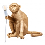 Seletti Tafellamp Monkey Gold