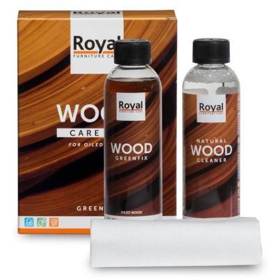 Wood Care Kit Greenfix & Cleaner