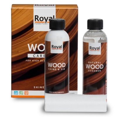 Wood Care Kit Shine & Fix + Cleaner
