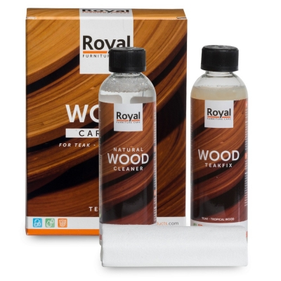 Wood Care Kit Teakfix & Cleaner