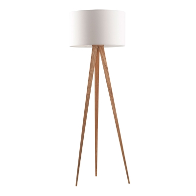 Zuiver Vloerlamp Tripod Wood