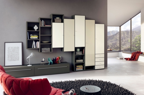 h lsta mega design wandmeubel eijerkamp wonen. Black Bedroom Furniture Sets. Home Design Ideas